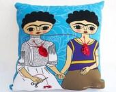 Pillow Frida Kahlo, artwork
