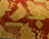 Fabric by the yard, Japanese, Kobayashi, dobby, 100% cotton, 44 inches wide, one yard