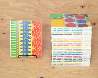 Vintage Set Of 23 Pictorial Encyclopedia On The Family Creative Work Shop Beautifully Illustrated