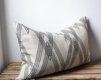 Nate Berkus geometric pillow cover