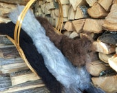 Washed Wool - Natural Colors
