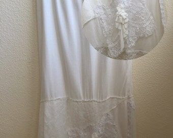 BoHo Lace and Cotton/Rayon Skirt