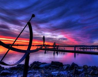"Photo Art - Photography - Photographers - Boat Photography - Sunset Photography - Lanscape Photography -  12 X18"" Prints"