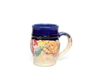 Happy pottery coffee Mug