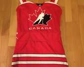Custom order team canada jersey dress for tammy