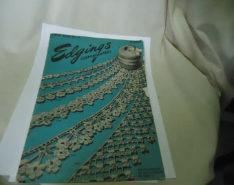 Vintage 1946 American Thread Company Edgings Star Book No 41, collectable