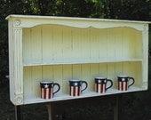 24 x 24   x 4   plate rack cottage.. custom order