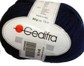 Gedifra Shanina Yarn Bulky, Dark Navy Blue Chunky Wool, Acrylic Blend for Knitting and Crochet