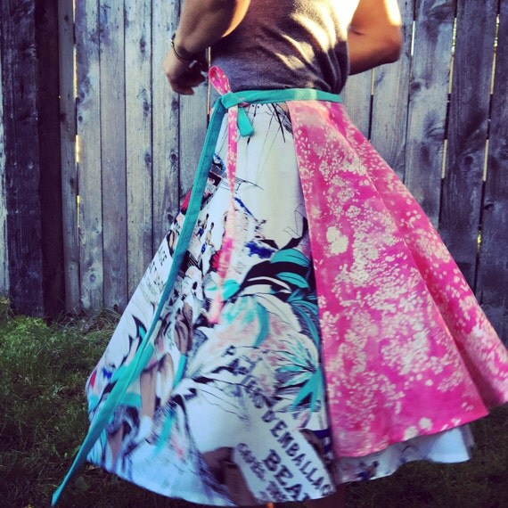 Fancy wrap skirt, one size fits most