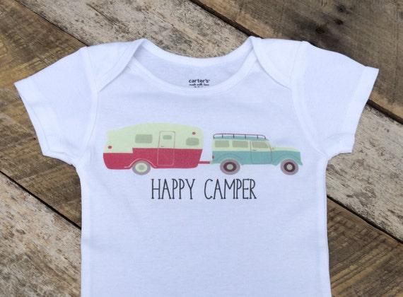 NEW Happy Camper esies Baby Boy esie Camping by