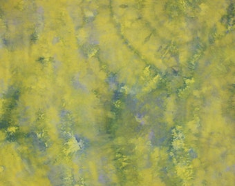 155 - Hand dyed cotton fabric
