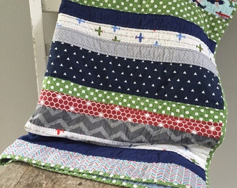 Toddler bed quilt | Etsy : toddler bed quilt pattern - Adamdwight.com