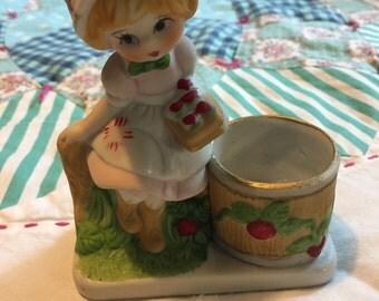 Vintage Strawberry Shortcake Figurine Strawberry Patches #3875