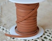 50 Feet 3mm Cord Deerskin Leather 1/8-inch Soft Light Saddle Tan Deer Lace
