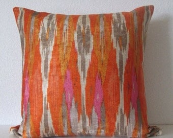 Special listing for Wendy - 2 12x18 Iman Ikat Nectar pillow cover