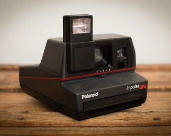 Polaroid Impulse QPS Instant Camera w/Film, Working, Vintage 80s
