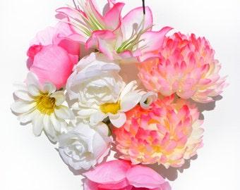 Shades Of Pink Digital Print