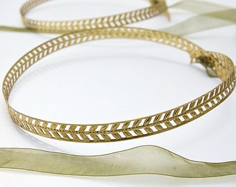 STEFANA Wedding Crowns - Orthodox Stefana - Bridal Crowns ATHENA - One Pair