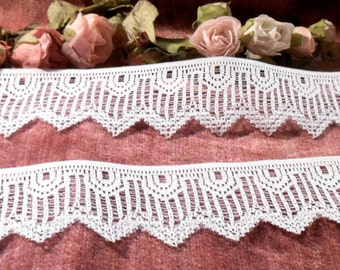 Vintage Lace By The Yard Vintage Lace Trim  Supplies Craft Suppies