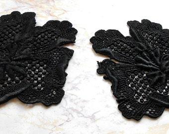 Antique Lace Vintage Lace French Flower Appliques Craft Supply Appliques