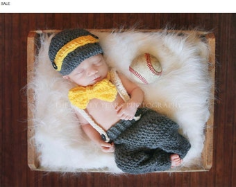 Summer SALE Newborn Little Man set...Adorable