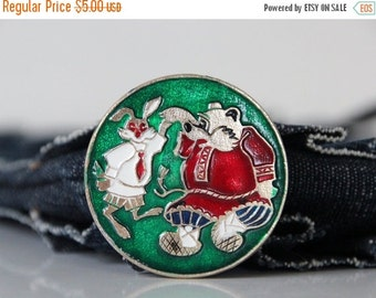50% OFF Soviet Russian Fairy Tale, Vintage pin, made in USSR