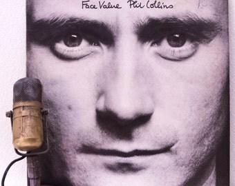 "ON SALE Phil Collins (Genesis) Vinyl Record Album 1980s Light Rock Pop Drummer Ballads LP ""Face Value""(Orig. 1981 Atlantic)"