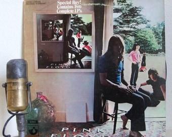 "ON SALE Pink Floyd Vinyl Record Album ""Ummagumma"" (1983 Capitol re-issue 2LP (1 Live, 1 Studio) ""Careful With That Axe, Eugene"", ""Astronomy"