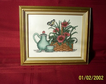 Needlepoint  Stillife picture