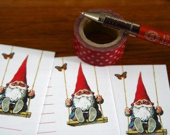 Gnome Land - A5 Stationery - 12, 24 or 48 sheets