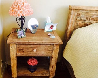 Handcrafted Night Stand