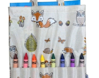 Woodland Crayon Bag