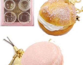 Padico sweets mold/sweets mold/sweets miniature/miniature sweets mold/Padico soft mold/silicon mold/cream puff mold/macaroon mold