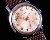 1950's Wittnauer - Starburst Dial - Cool Unusual Case