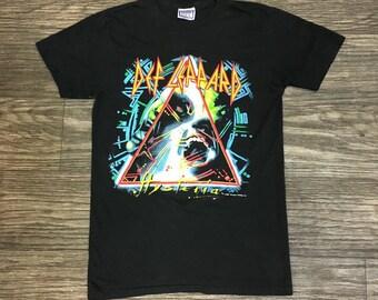 1987 DEF LEPPARD Hysteria Tour Shirt
