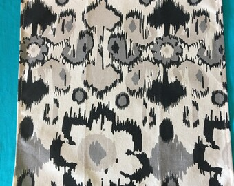 NAPL1471A Modern Gray and Black Napkins Set, Napkins, Cloth Napkins, Napkin Set, Linens, Linen Napkins, Napkins, Paperless Napkins, Fabric