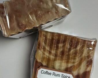 Coffee Rum Spice handmade soap