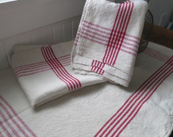 Vintage French Linen Hand Towel