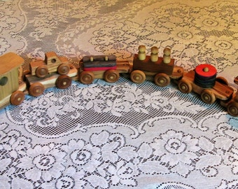 Small Educational Counting Train