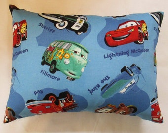 NEW 12 x 18 Lumbar Pillow Cars One Left