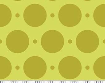 Sweet Nothings Green Sweet Dots by Zoe Pearn Designs for Riley Blake, 1/2 yard
