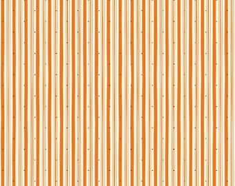 Witch Hazel Orange Stripe by October Afternoon for Riley Blake, 1/2 yard