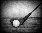 Golf Print - Golf Gifts - Sports Gift - Kids Room Decor - Golf Art - Golf Photo Print - Golf Decor - Golf Poster - Golf Wood - Vintage Golf