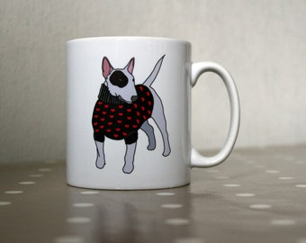 English Bull Terrier Ceramic Mug