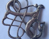 Vintage David Andersen Viking Period Sterling Brooch Norway