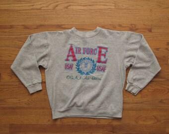 vintage Air Force OSAN air base sweatshirt