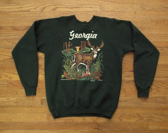 mens vintage Georgia souvenir sweatshirt