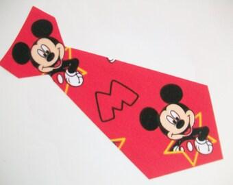 DIY No-Sew Mickey Tie Applique - Iron On