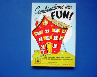 Combinations are Fun!, a Vintage Teaching Recource for Addition Facts