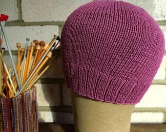 Alopecia/Chemo  Bamboo Nylon Lilac Softest  Cap under 30 dollars